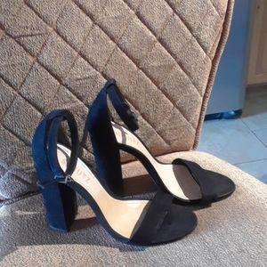Schutz Enida Black High Heels Sandals Shoes